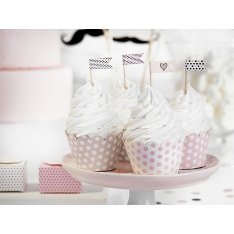Cápsulas para cupcake de unicornio