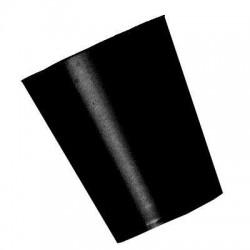 Vasos de color negro