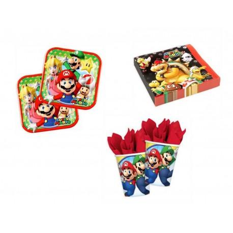 Pack mini de Supero Mario para 8