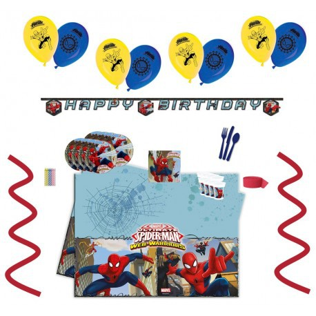 Pack Básico de Spiderman