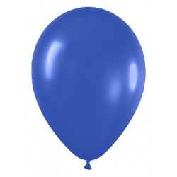 Globos de color azul real x 8