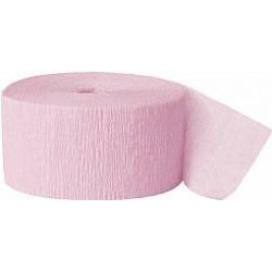 Cinta crepé rosa claro