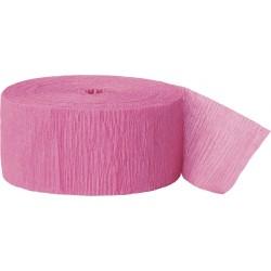 Cinta crepé rosa fuerte