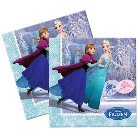 Servilletas de Frozen Ice Skating