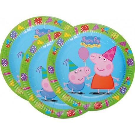 Platos de Pepa Pig