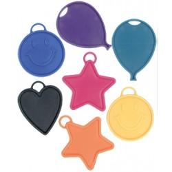 Pesas de figuras para globos