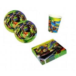 Mini pack de las Tortugas Ninja para 8