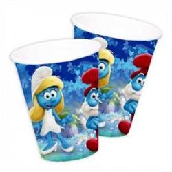 Vasos de Los Pitufos