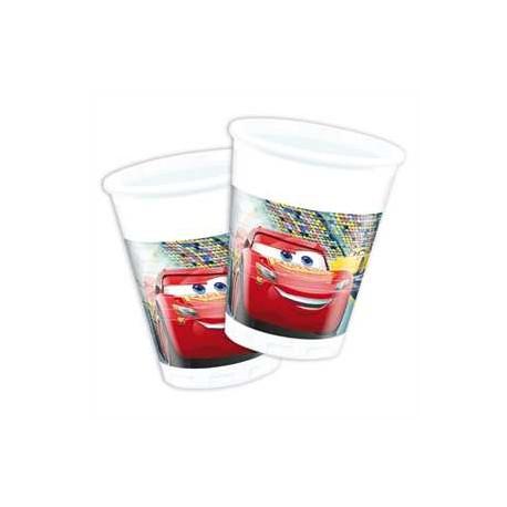 Vasos de Cars 3