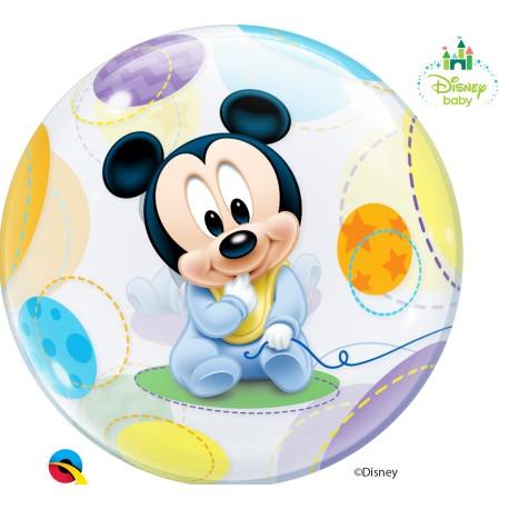 Globo burbuja de Mickey bebe