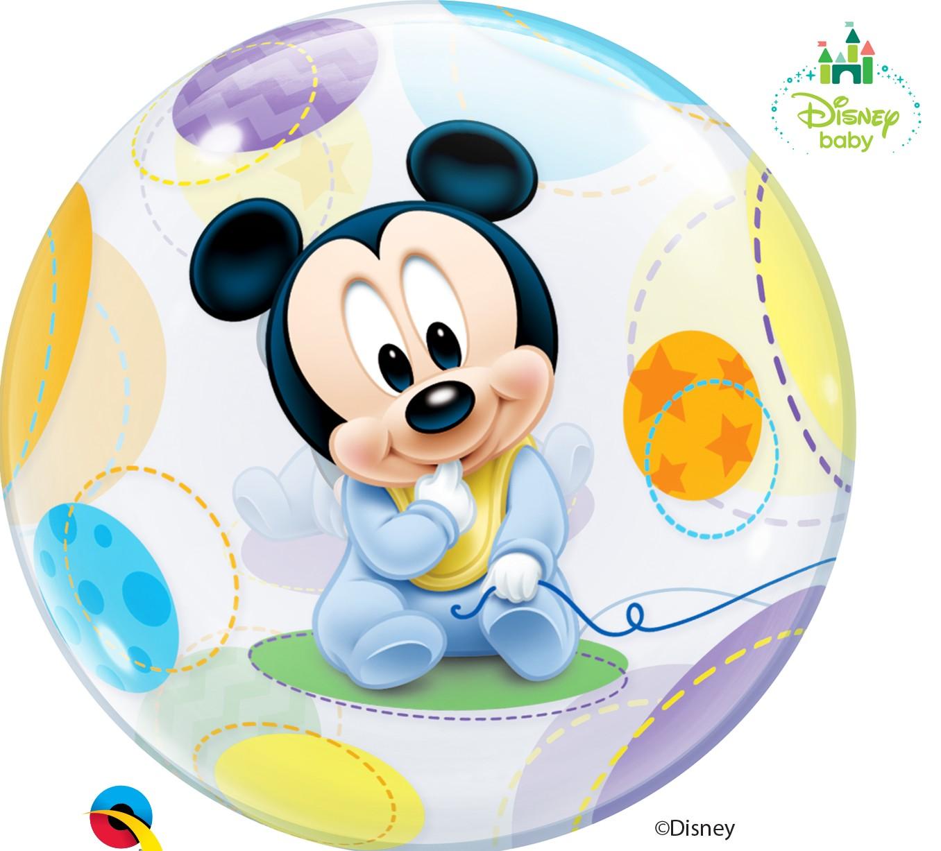9e385c8b5 Globo burbuja Mickey bebe