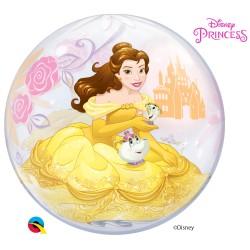 Globo burbuja de la Bella y la Bestia