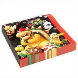 Servilletas de Super Mario