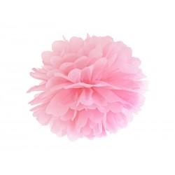 Pompón de color rosa claro (35 cm)