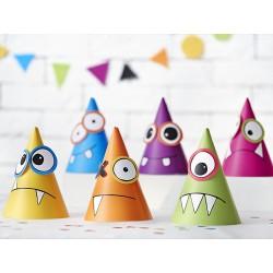 Sombreros de fiesta de colores