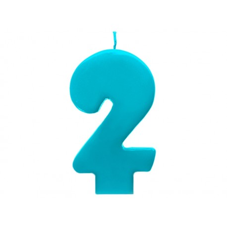 Vela azul número 2