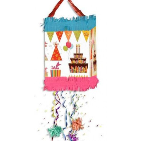 Piñata de Happy Birthday